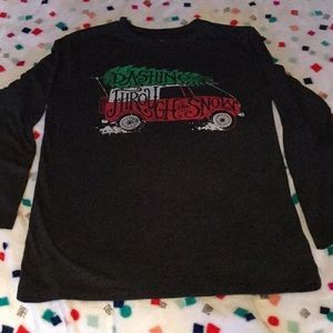 Graphic holiday long sleeve